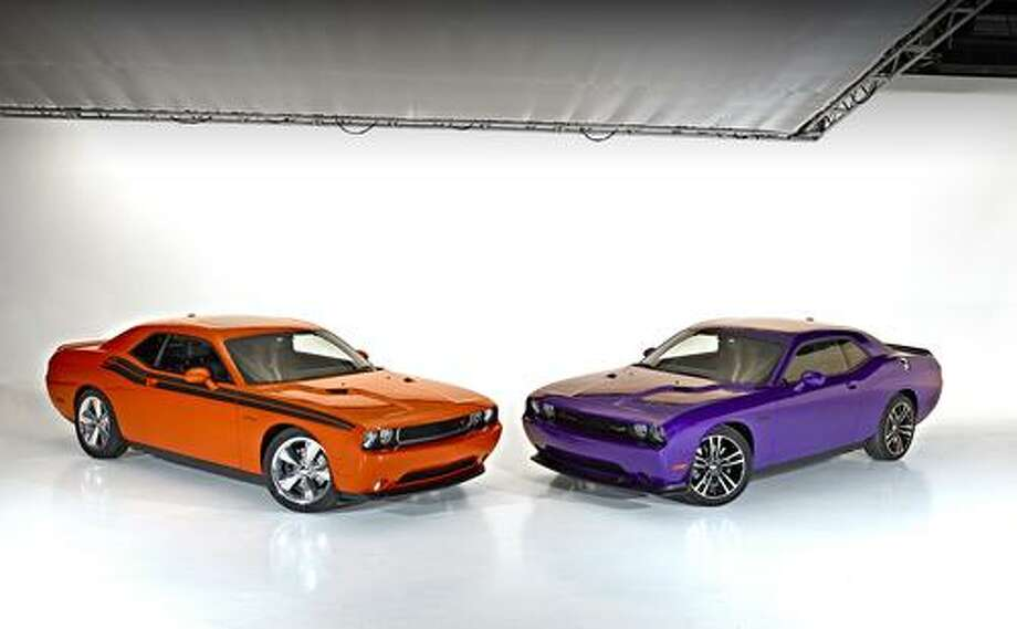 Dodge likes to offer colors that are reminiscent of the Sixties and Seventies.