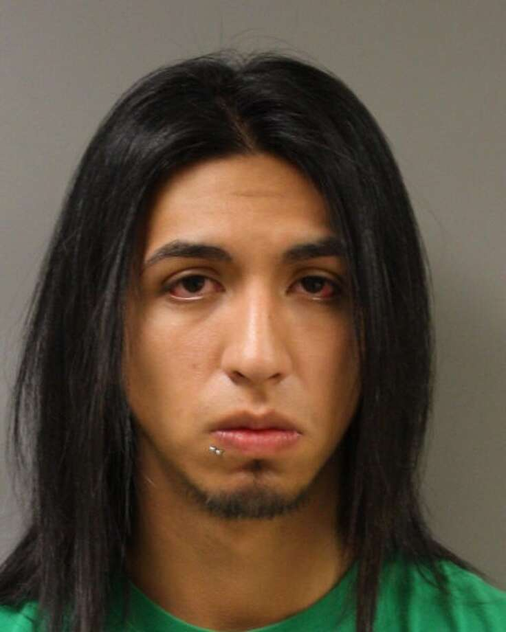 Jesus Alan Salazar, 19, of Waller, faces a felony charge of improper photograph/visual recording, and was being held in the Harris County Jail under a $52,000 bail. He is accused of secretly videotaping men from a stall in a men?s restroom in Hockley. Photo: Harris County SO