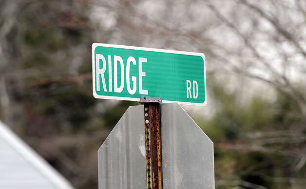 Residents on Ridge Road in Danbury, Conn., recently petitioned the city to change the name to Red Ridge Road. Photo: Carol Kaliff / The News-Times