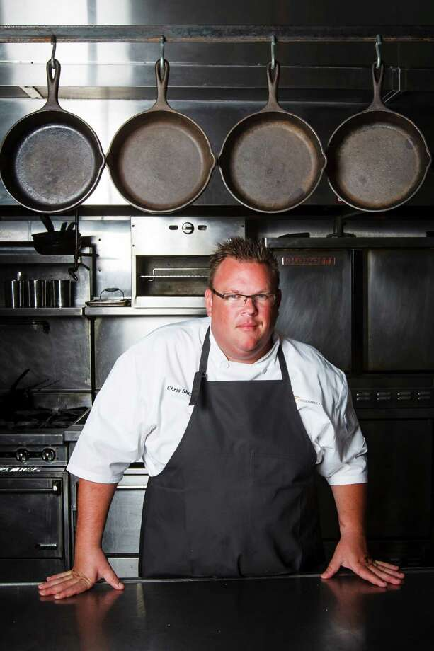 Chris Shepherd, owner and executive chef of Underbelly, poses for a portrait inside his restaurant, Friday, Sept. 21, 2012, in Houston. ( Michael Paulsen / Houston Chronicle ) Photo: Michael Paulsen, Staff / © 2012 Houston Chronicle