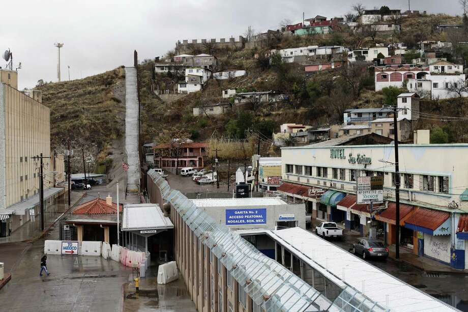 A woman makes her way back to Mexico at the Nogales Port of Entry in Nogales, Ariz., Feb. 20. Securing the U.S.-Mexican border has tied Congress in knots for decades, and as lawmakers in Washington pursue a sweeping overhaul of immigration, the country is once again debating what to do about border security. Photo: The New York Times