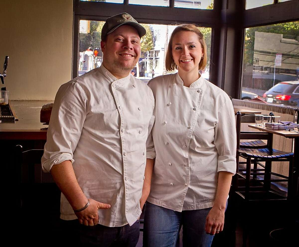 Evan and Sarah Rich at Rich Table in San Francisco are seen on Wednesday, September 19th, 2012.