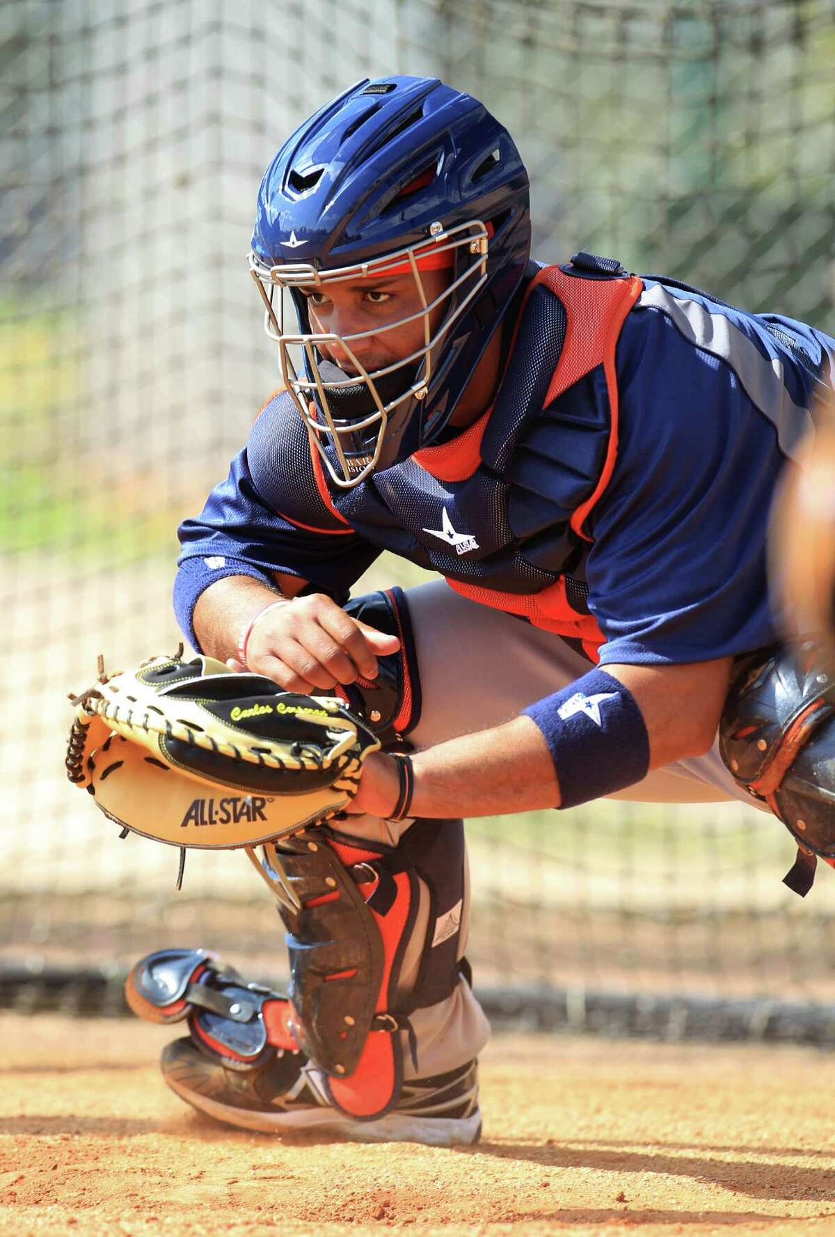 Carlos Corporan, who totaled six months with the Astros in 2011 and 2012, is expected to start the 2013 season as their backup catcher.