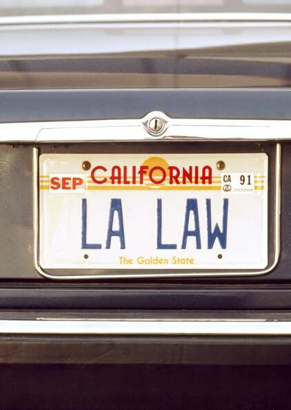 L.A. Law - the legal television drama that The New York Times described at the time as television's