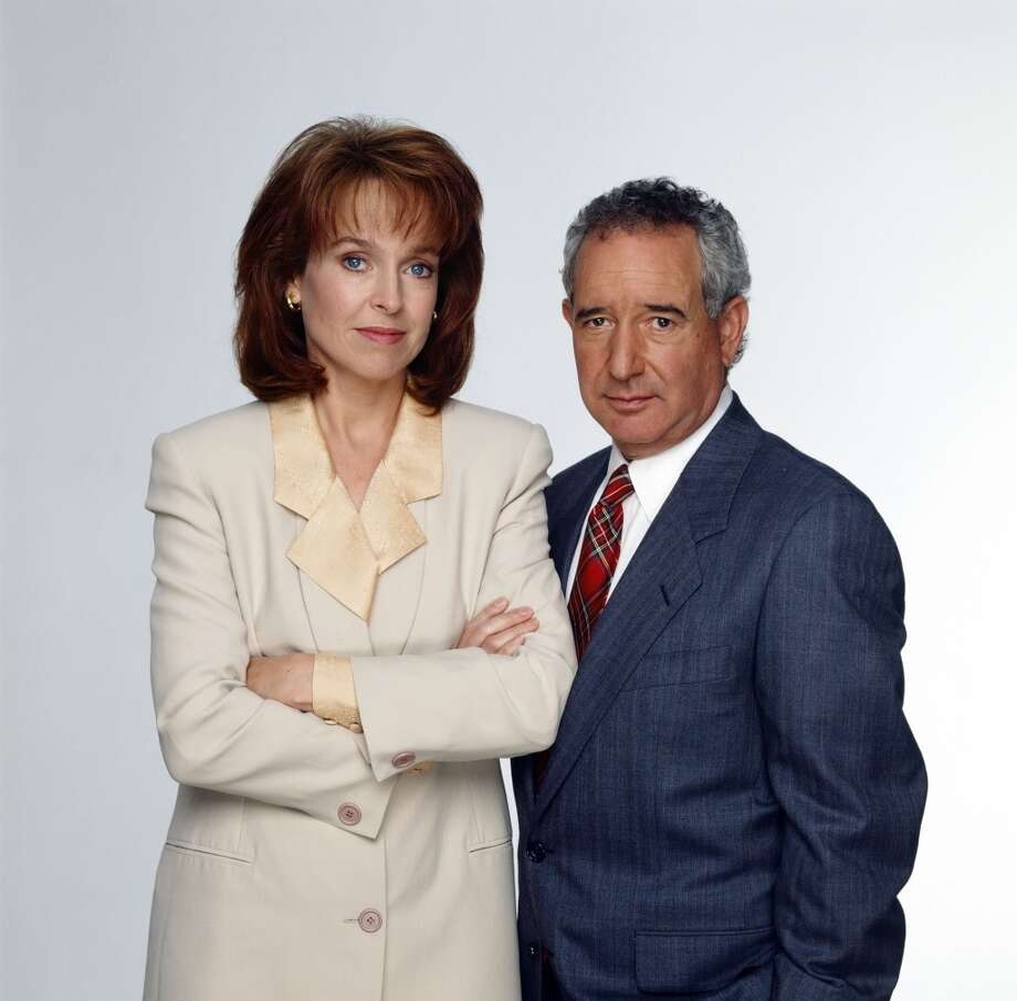 Jill Eikenberry as Ann Kelsey, Michael Tucker as Stuart Markowitz were frequent combatants in the show ... possibly because they were married in real life. Wikipedia: With the financial success accruing from their L.A. Law work, Jill and Michael produced a number of television movies as vehicles in which they appeared together. They include Assault and Matrimony (1987), The Secret Life of Archie's Wife (1990), A Town Torn Apart (1992) and Gone in a Heartbeat (1996).
