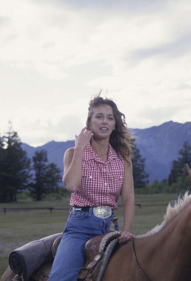 Here she is in the 1994 made-for-tv movie How the West was Fun movie.