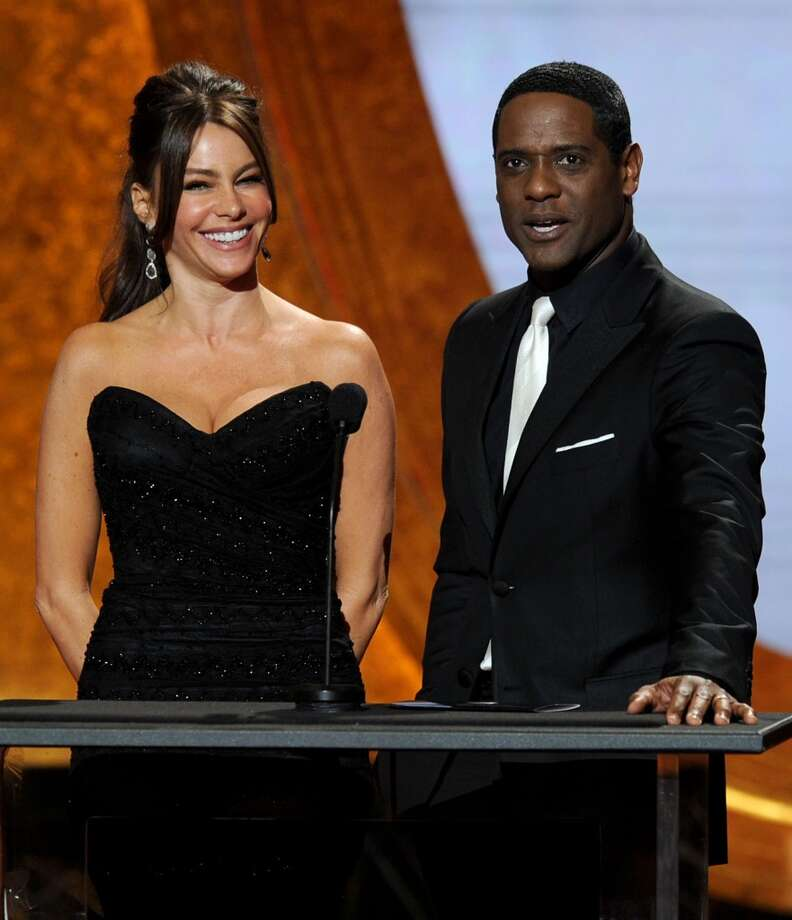 Sofia Vergara and Underwood speak onstage at the 42nd NAACP Image Awards in 2011. Underwood has won that award three times.