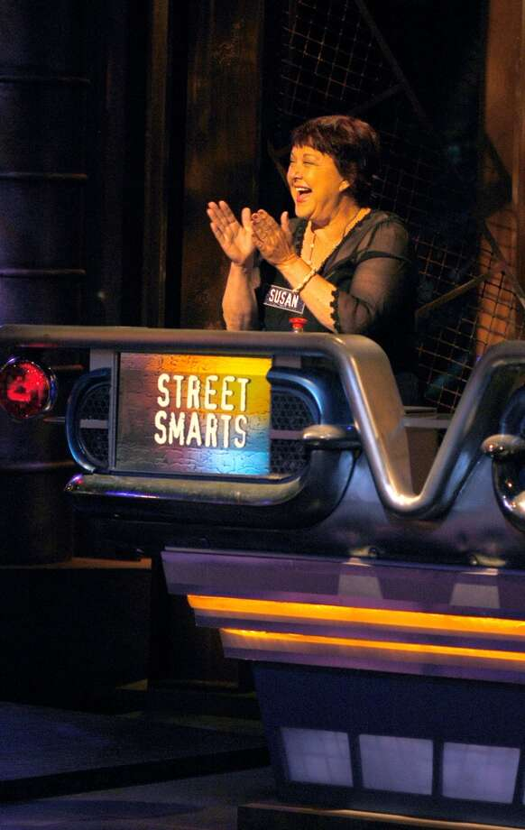 Here's Ruttan during Taping of Celebrity Edition of 'Street Smarts' in 2003.