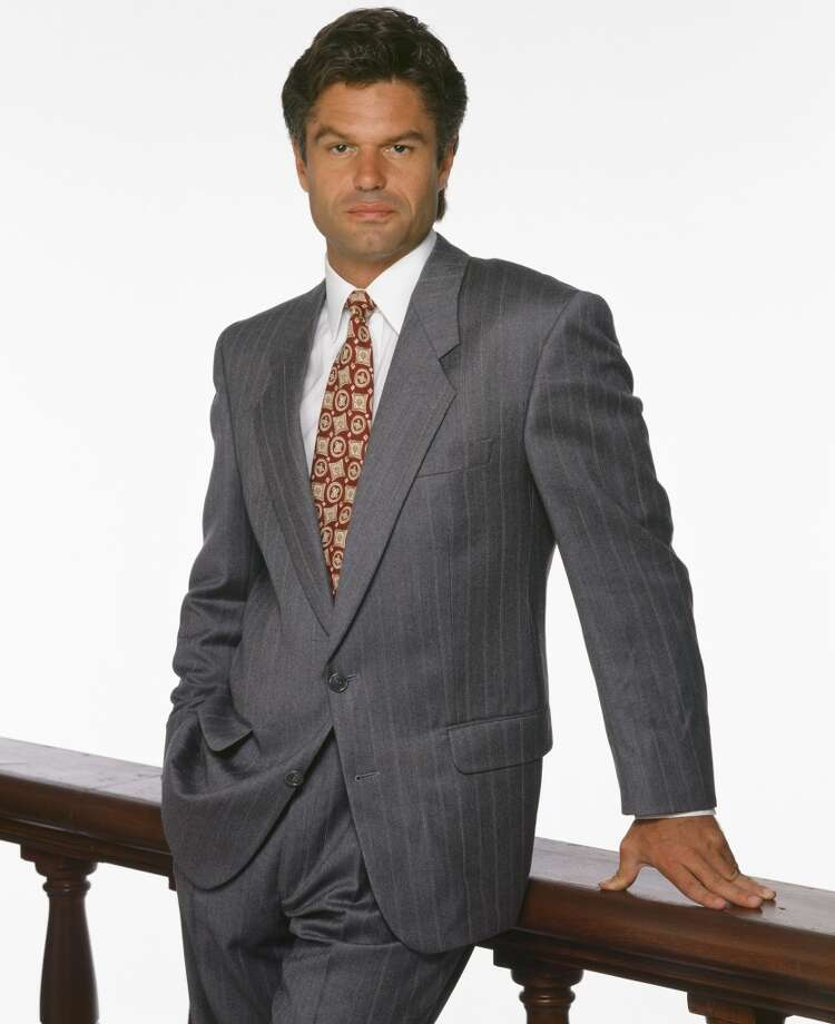 Harry Hamlin played Michael Kuzak, a partner in the firm who once wooed Grace van Owen on the courthouse steps (where she is about to get married) in a gorilla suit. Seems desperate for an actor voted by People magazine as the Sexiest Man Alive in 1987.