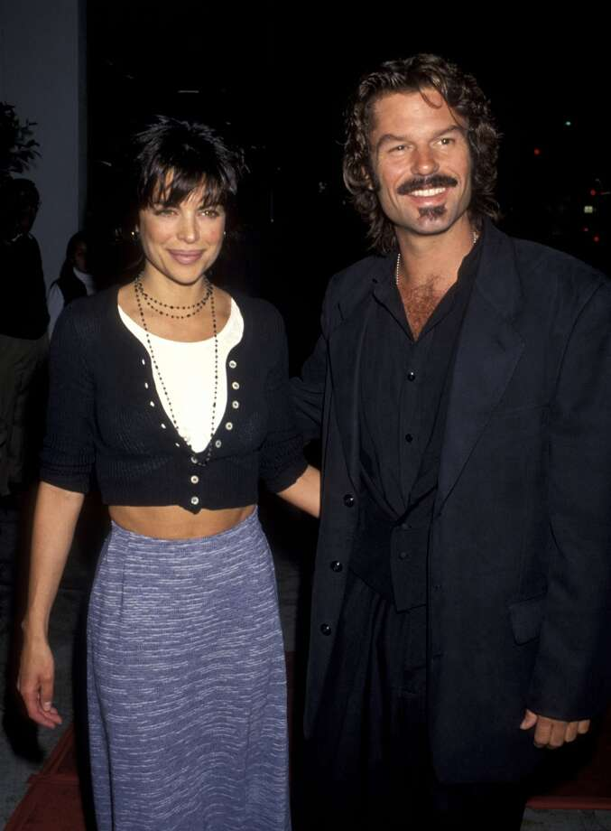 Harry Hamlin and wife Lisa Rinna during Final Wrap Party for L.A. Law in 1994.