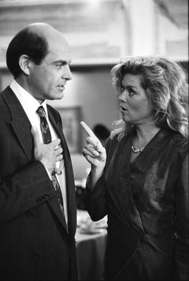 Happy Trails -- Episode 2 -- Aired 10/25/1990 -- Pictured: (l-r) Alan Rachins as Douglas Brackman, Jr., Robyn Peterson as Marilyn Hopkins.