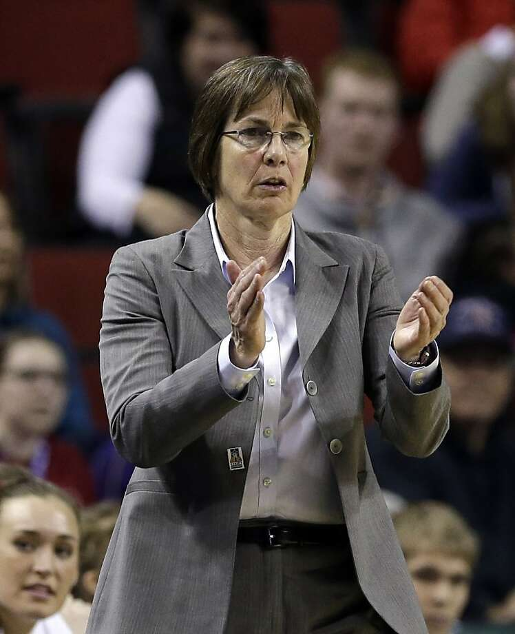 "Stanford coach Tara VanDerveer said she was ""a little"" surprised her team was put in the same region as Cal. Photo: Elaine Thompson, Associated Press"