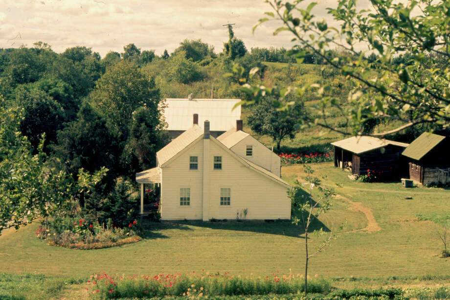 An undated photo of the Rucinski dairy farm on Staniak Road in Halfmoon.