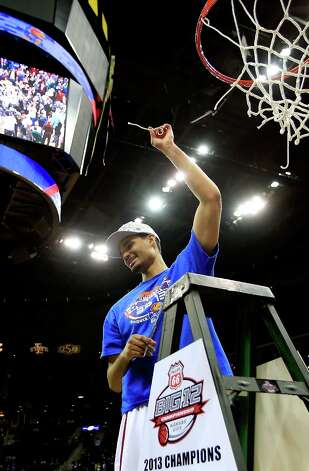 1. Kansas (29-5) — The rich get richer. The emergence of Perry Ellis gives them a game-turning option coming off the bench. Photo: Jamie Squire, Getty Images / 2013 Getty Images