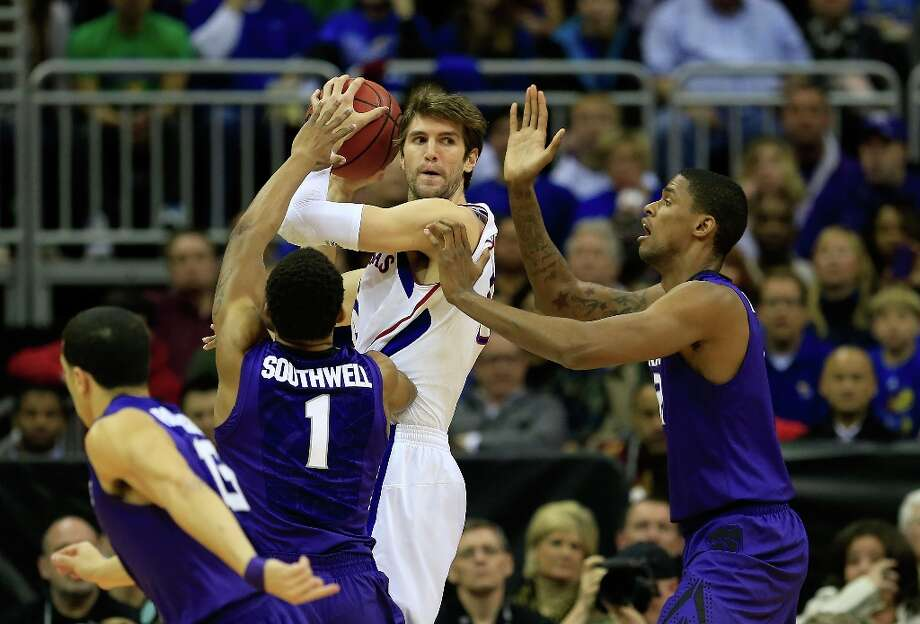 2. Kansas State (27-7)— Wildcats need more of an inside presence if they have any hopes of advancing past Kansas City and into the Sweet 16. Photo: Jamie Squire, Getty Images / 2013 Getty Images