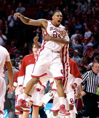 5. Oklahoma (20-11) — Sooners stumble into the NCAAs and catch old nemesis Steve Fisher and San Diego State, who beat Kruger in eight of their nine games when he was at UNLV. Photo: Sue Ogrocki, Associated Press / AP