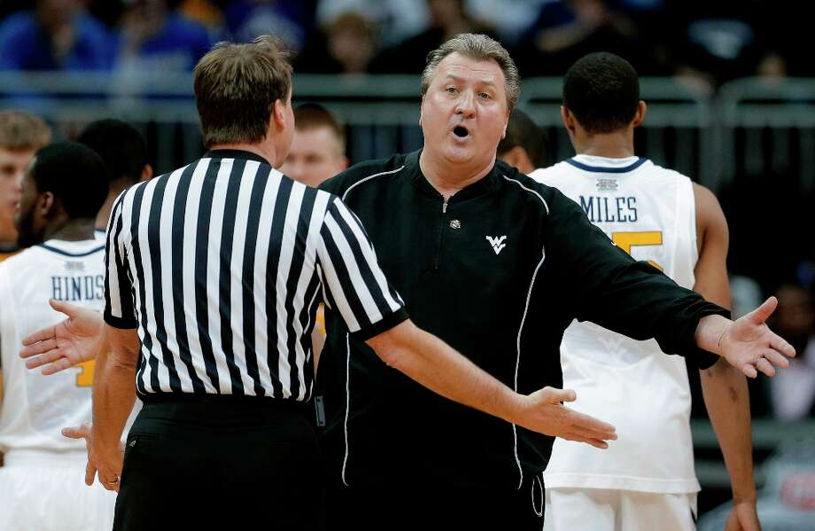 8. West Virginia (13-19) – Watching Mountaineers in Kansas City, you could sense that Bob Huggins couldn't wait for this season to end. Photo: Charlie Riedel, Associated Press / AP