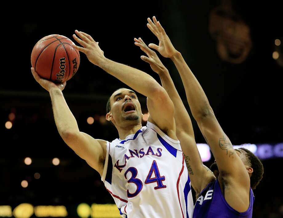 Who's hot: Kansas F Perry Ellis — The freshman is peaking as the Jayhawks' sixth man, averaging 13.8 points, 5.5 rebounds and shooting 76.7 from the field in his last four games. Photo: Jamie Squire, Getty Images / 2013 Getty Images