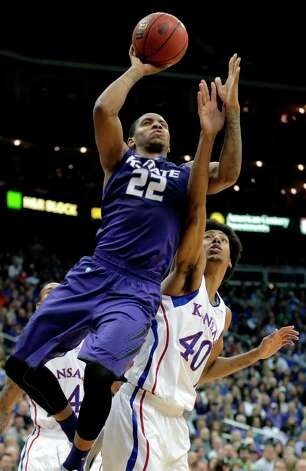 Who's hot: Kansas State G Rodney McGruder — The Wildcats' lone first-team All-Big 12 selection has been huge in recent games, averaging 22.3 points and 6.3 rebounds in his last four. Photo: Charlie Riedel, Associated Press / AP