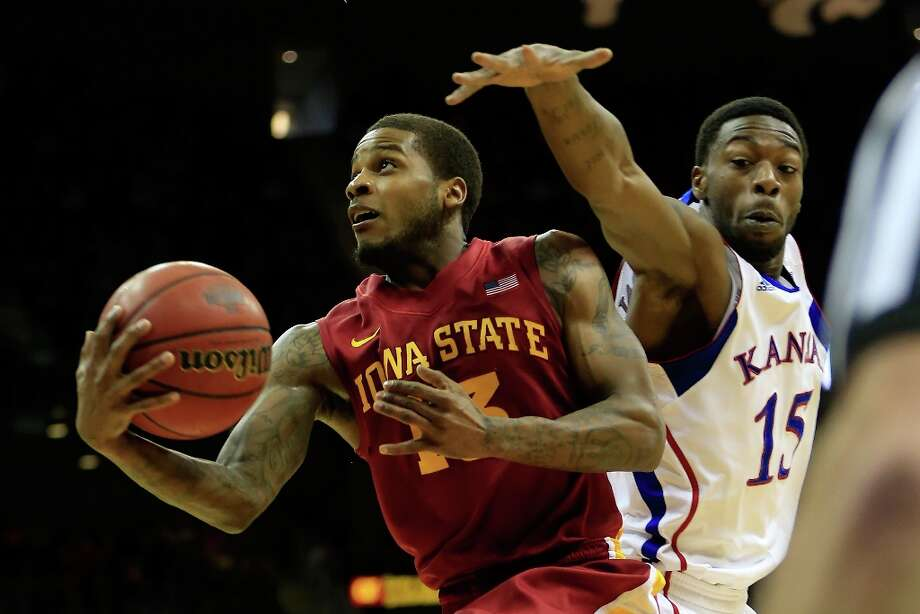 Not: Iowa State G Korie Lucious — The Cyclones will need moreconsistent production  from their senior point guard after averaged only 2.5 points in ISU's two Big 12 tournament games, shooting a miserable 11.1 percent from the field and 8.3 percent from 3-point territory. Photo: Jamie Squire, Getty Images / 2013 Getty Images