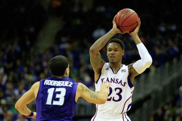 Not: Kansas G Ben McLemore — The scintillating freshman has gone quiet in recent games with an average of 7.5 points per game in his last two. Most telling is that he tried only 12 shots in those two games. His five points in the championship game were a season single-game low. Photo: Jamie Squire, Getty Images / 2013 Getty Images