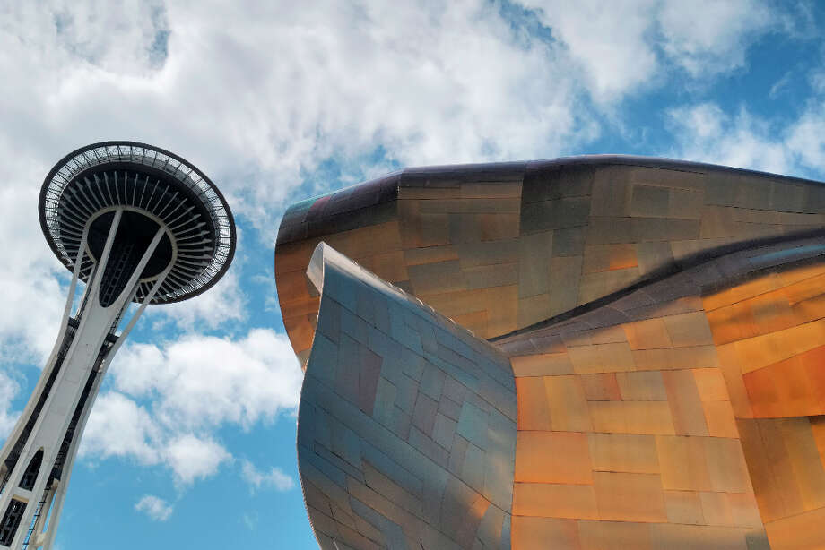 The Experience Music Project, Seattle. Photo: Peter Carroll, Getty Images/First Light / First Light