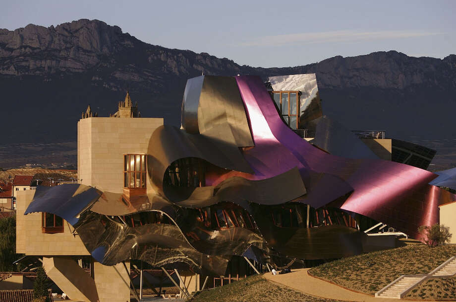 Marques de Riscal hotel, Elciego, Spain. Photo: Denis Doyle, Getty Images / 2006 Denis Doyle