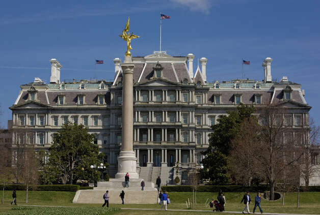 Washington, D.C. already has the Dwight David Eisenhower Executive Office Building, with the American Expeditionary Forces Memorial in front. Photo: George Rose, Getty Images / 2011 George Rose