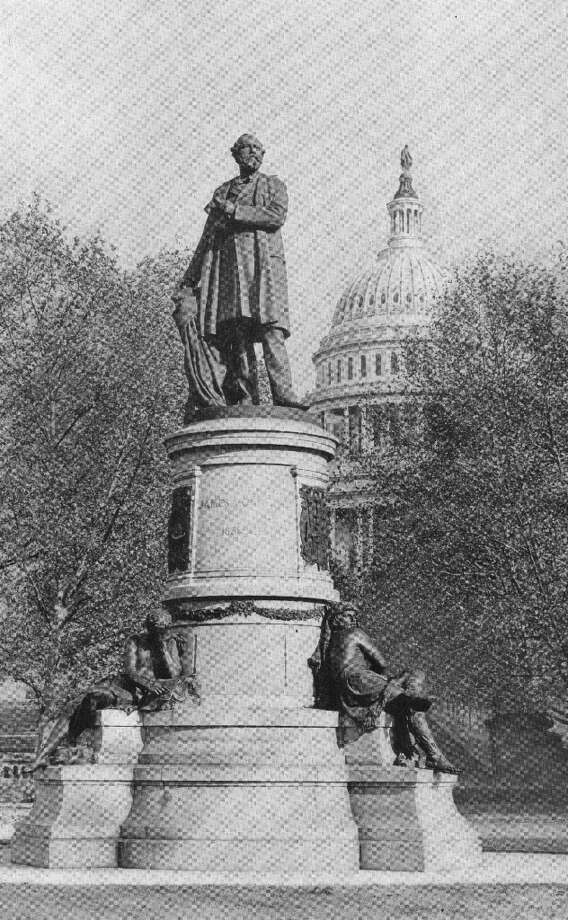 An embittered attorney who had sought a consular post shot President James A. Garfield on July 2, 1881, less than four months after his inauguration. He died on Sept. 19. Nonetheless, he has a memorial statue on the grounds of the Capitol. Photo: Hulton Archive, Getty Images / Hulton Archive