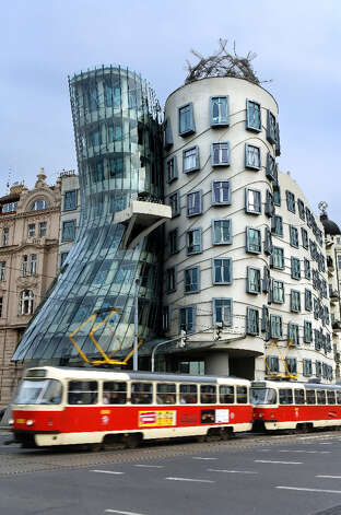 Dancing House, Prague,  Czech Republic Photo: Lucas Vallecillos, Getty Images/age Fotostock RM / age fotostock RM