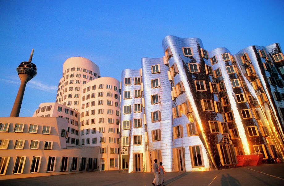 Neuer Zollhof, Dusseldorf, Germany Photo: H. & D. Zielske, Getty Images/LOOK / LOOK