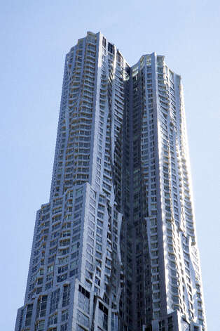 New York by Gehry, also known as Beekman Tower, New York. Photo: Raymond Boyd, Getty Images / 2012 Raymond Boyd
