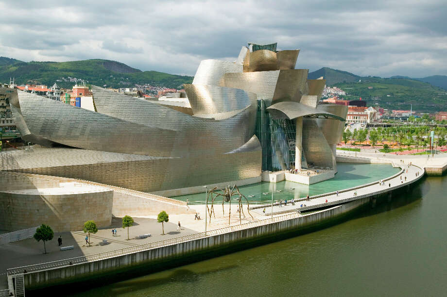 Finally, we couldn't resist throwing in the Guggenheim Museum of Contemporary Art of Bilbao, Spain, designed by Frank Gehry and built in 1997. Maybe Emporis felt they had enough Gehry buildings already. Maybe they saw it as less blob-like than the others. But the museum put both Bilbao and Gehry on the figurative map for many. Photo: Visions Of America, UIG Via Getty Images / Universal Images Group Editorial