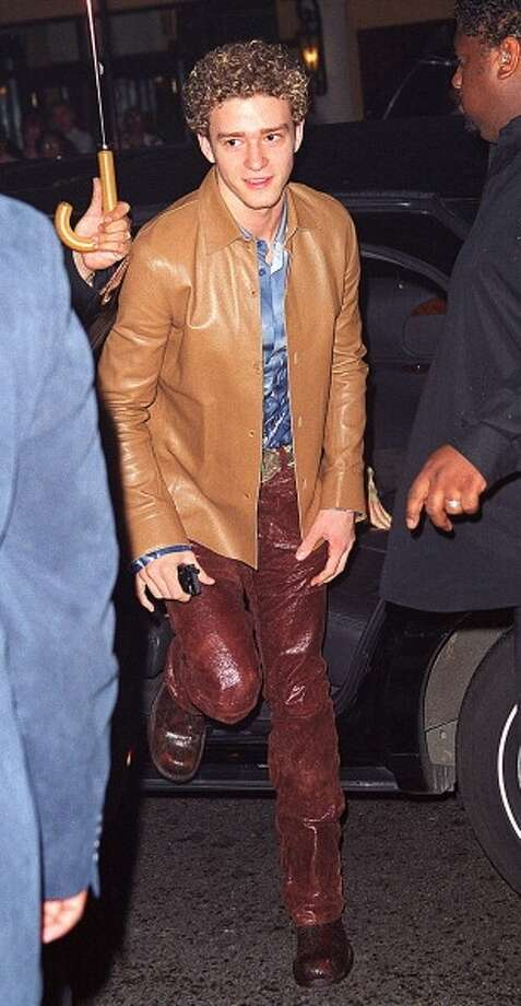 These pants. (2000 photo by James Devaney/WireImage)