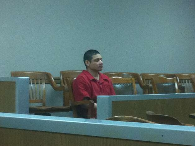 Joseph Gamboa in court Monday, March 18, 2013. Photo: Craig Kapitan/Express-News