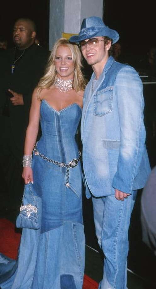 It comes in pairs. Oh, the humanity! (2001 photo by Jeffrey Mayer/WireImage)