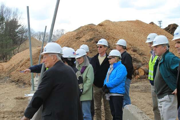A group of Y leaders toured the building site on Thursday, March 14