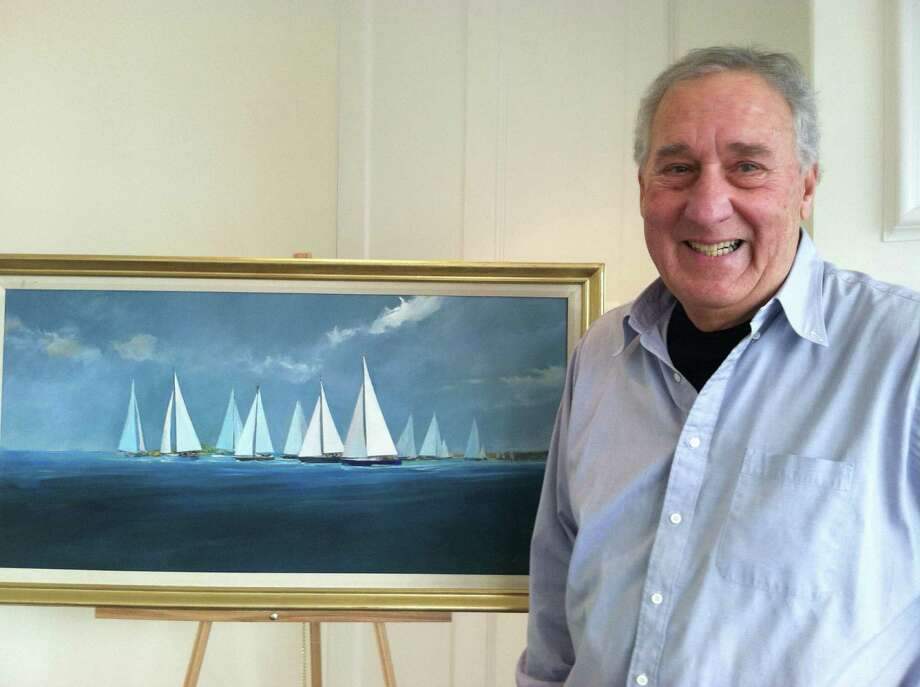 Joseph Lamorte's artwork will be on display through March at the Darien Rowayton Bank at 1001 Post Road, Darien. Photo: Contributed