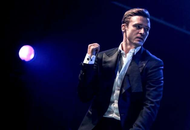 Timberlake in February 2013, performing in London. (Chiaki Nozu/WireImage)