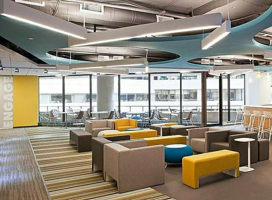 Edelman, a multinational public relations company headquartered in Chicago, Ill., also adds bright colors and modern design elements.Source: Glassdoor.com Photo: Glassdoor.com