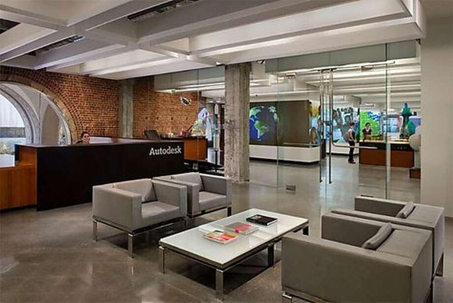 Autodesk employees collaborate in architecturally interesting spaces.Source: Glassdoor.com Photo: Glassdoor.com