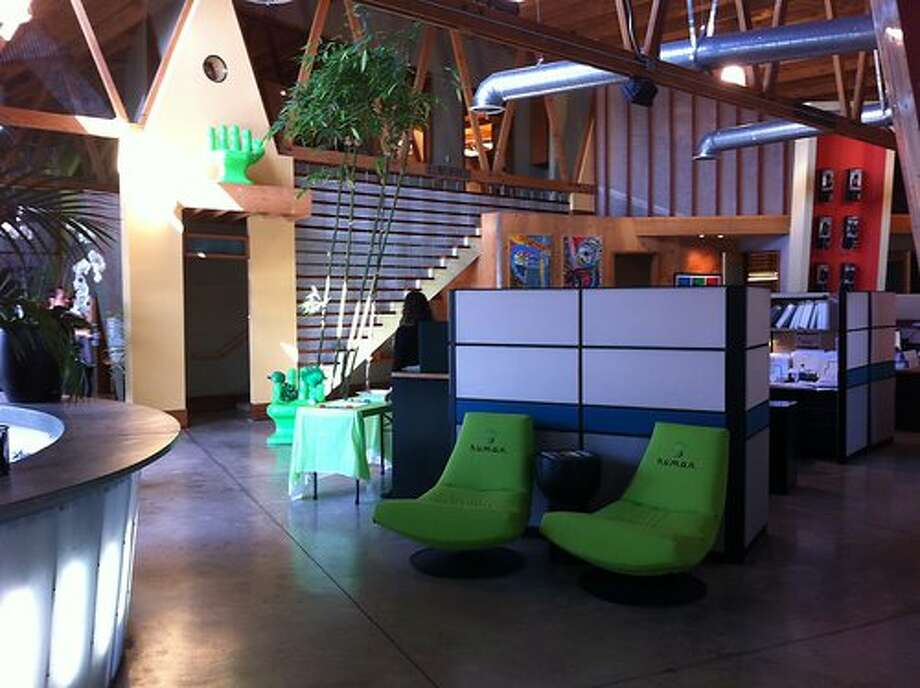 HUMAN Healthy Vending adds comfy chairs that line its reception space.Source: Glassdoor.com Photo: Glassdoor.com