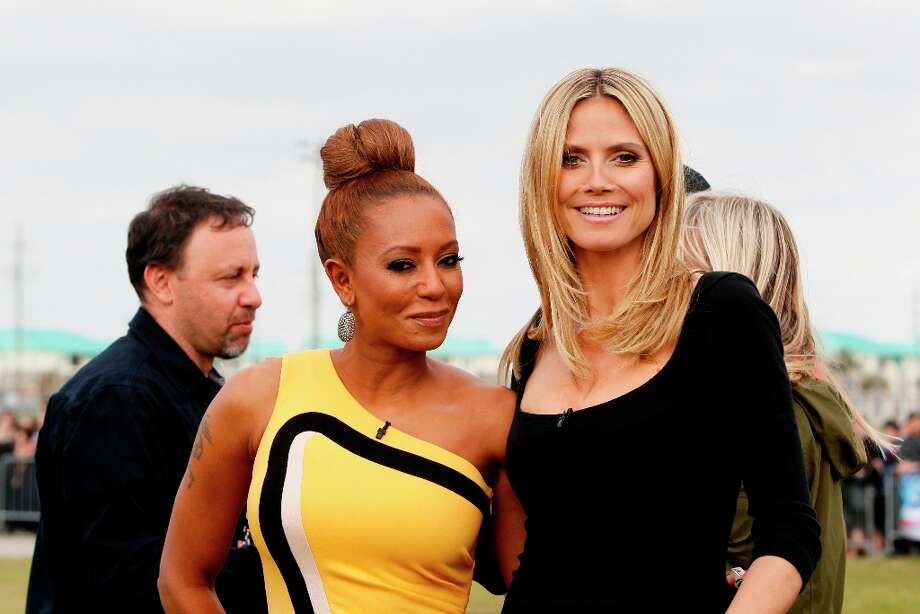 Greet Heidi Klum and Mel B as part of big SA welcome.