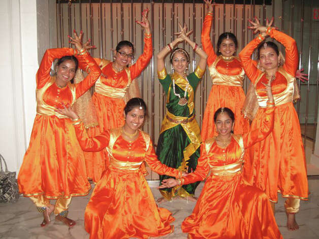 Jayshree Srikanth, center, who runs Dance X Studio in Stamford, Conn., will be among the participants celebrating the Hindu festival of Shivratri in Greenwich, Conn., Sunday, March 24. An evening event is planned at the Cole Auditorium at the Greenwich Library, which will include dance, music, meditation and a panel discusson. For more information, call 203-550-2026 or email greenwichmeditation@gmail.com. Photo: Contributed Photo