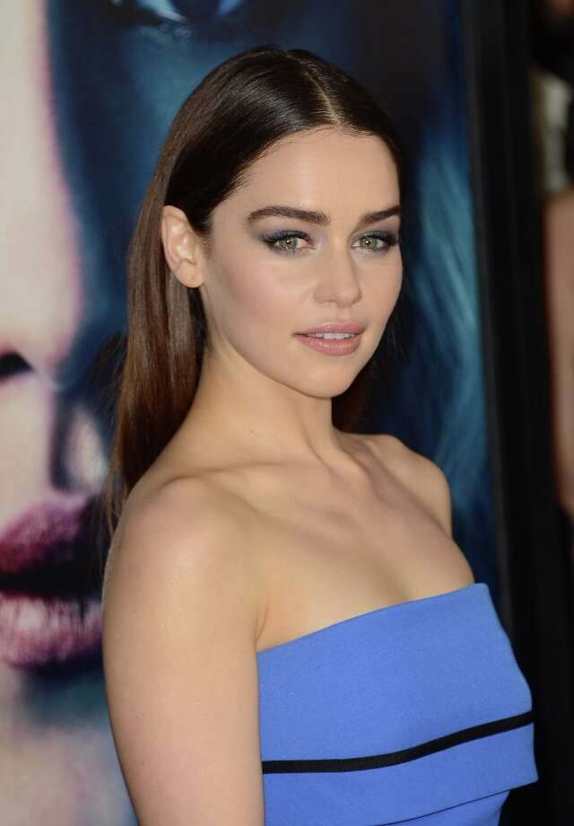 Actress Emilia Clarke arrives at the premiere of HBO's 'Game Of Thrones' Season 3 at TCL Chinese Theatre on March 18, 2013 in Hollywood, California. Photo: Jason Merritt, Getty Images / 2013 Getty Images
