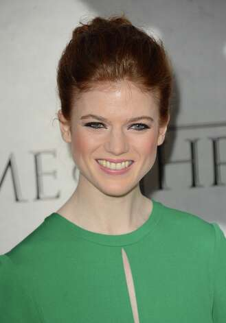 Actress Rose Leslie arrives at the premiere of HBO's 'Game Of Thrones' Season 3 at TCL Chinese Theatre on March 18, 2013 in Hollywood, California. Photo: Jason Merritt, Getty Images / 2013 Getty Images