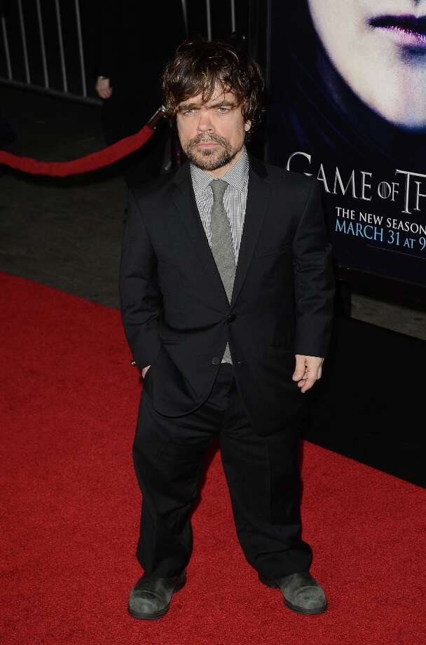 Actor Peter Dinklage arrives at the premiere of HBO's 'Game Of Thrones' Season 3 at TCL Chinese Theatre on March 18, 2013 in Hollywood, California. Photo: Jason Merritt, Getty Images / 2013 Getty Images