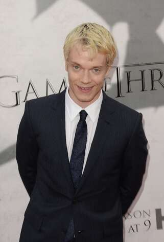 Actor Alfie Allen arrives at the premiere of HBO's 'Game Of Thrones' Season 3 at TCL Chinese Theatre on March 18, 2013 in Hollywood, California. Photo: Jason Merritt, Getty Images / 2013 Getty Images