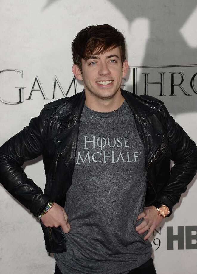 Actor Kevin Michael McHale arrives at the premiere of HBO's 'Game Of Thrones' Season 3 at TCL Chinese Theatre on March 18, 2013 in Hollywood, California. Photo: Jason Merritt, Getty Images / 2013 Getty Images