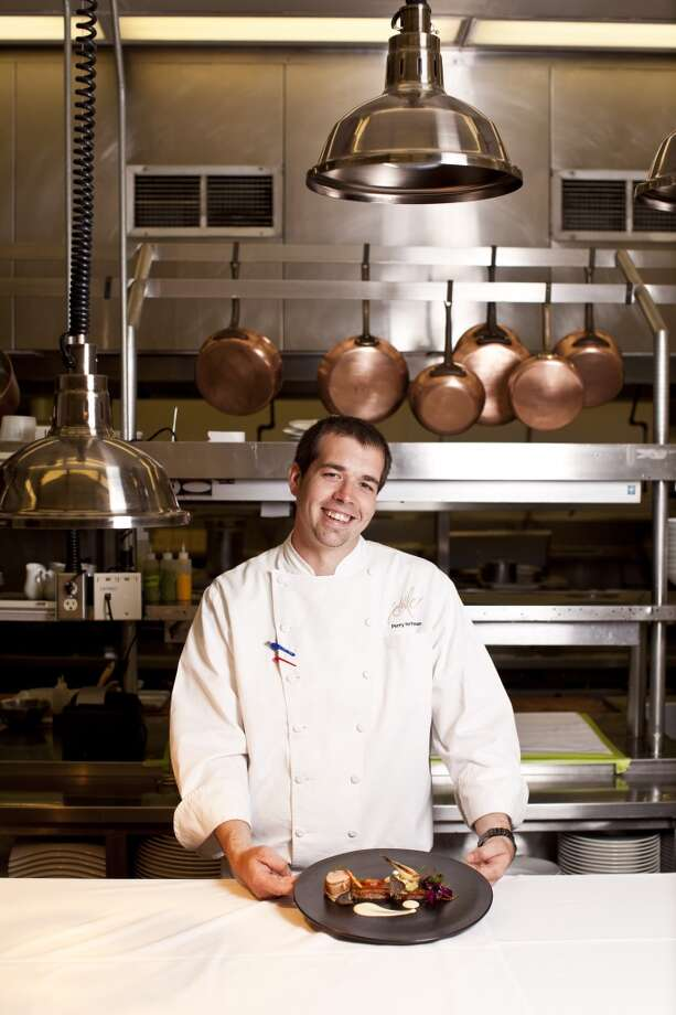 Executive chef Perry Hoffman at Domain Chandon in Yountville.